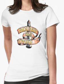 Round The Twist Womens Fitted T-Shirt