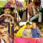 "Zayn Malik ""Live While We're Young"" Poster by SonOfPoseidon"