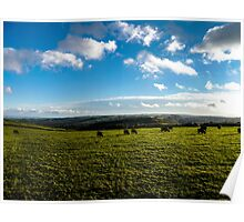 Derbyshire scenery Poster