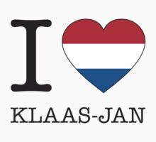 I ♥ KLAAS-JAN Kids Tee