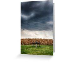 Facing the storm 2 Greeting Card