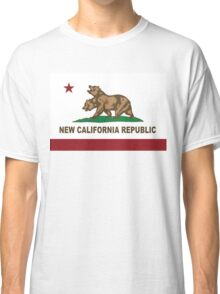New California Republic Flag Original  Classic T-Shirt