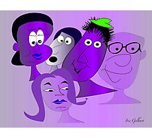 The new Purple Gang Photographic Print