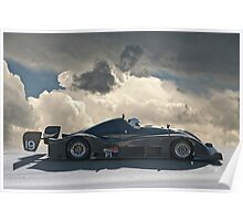 SCCA Prototype  Racecar P1 Poster