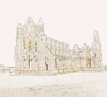 Whitby Abbey, Yorkshire by trish725