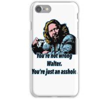 Big lebowski Philosophy 13 iPhone Case/Skin