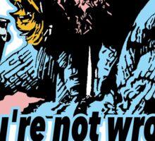Big lebowski Philosophy 13 Sticker