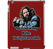 Big lebowski Philosophy 13 iPad Case/Skin