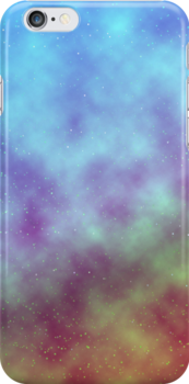 Starry phone case strawberry and peach by dreamyn