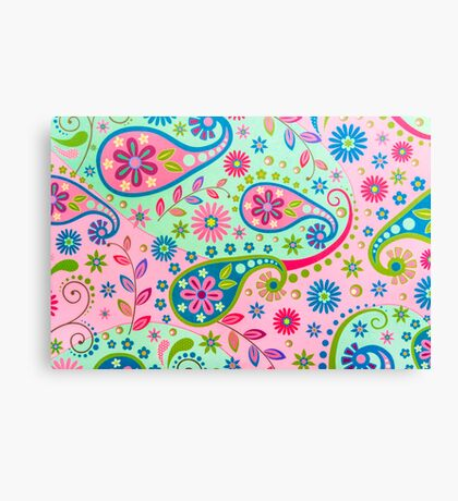Psychedelic Background Canvas Print