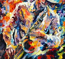 IN THE MOOD by Leonid  Afremov