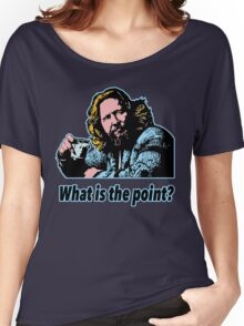 Big Lebowski Philosophy 14 Women's Relaxed Fit T-Shirt