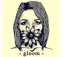 Gloom Girl Photographic Print
