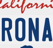 Coronado - California.  Sticker