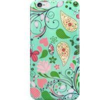 Garden Background iPhone Case/Skin