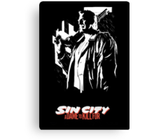 Sin City: A Dame to Kill For Canvas Print
