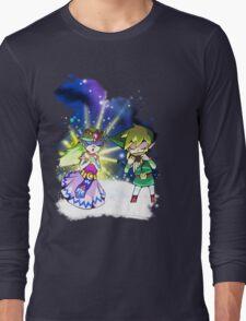 The Legend of Zelda Spirit Tracks - The Duet Long Sleeve T-Shirt