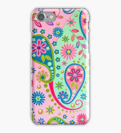 Psychedelic Background iPhone Case/Skin