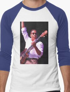 Stanley Clarke Bass Master Men's Baseball ¾ T-Shirt