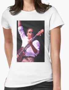 Stanley Clarke Bass Master Womens Fitted T-Shirt