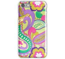 Flowers Patterns iPhone Case/Skin