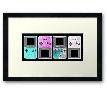 Pastel Nintendo Framed Print