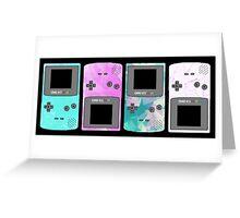 Pastel Nintendo Greeting Card