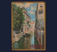 Venice Italy Vintage Art Kids Clothes