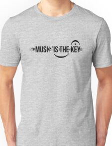 Music Is The Key Unisex T-Shirt