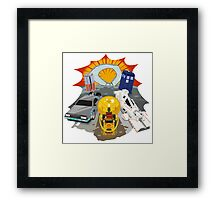 It's about TIME! Framed Print