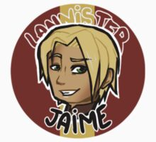 Chibi Jaime Lannister - Round Sticker 01 by BlackLemonJuice