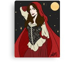 Ruby Moon Canvas Print