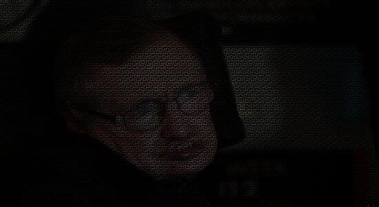 Stephen Hawking text by entastictreeman