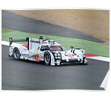 Porsche Team No 14 Poster