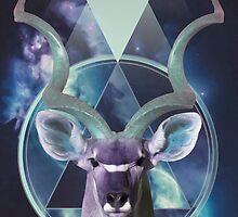 Kudu Antelope by nyxillustration