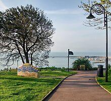 Langmoor-Lister Gardens At Lyme Regis by Susie Peek