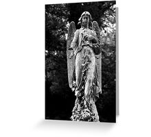 Angel Highgate Cemetery  Greeting Card