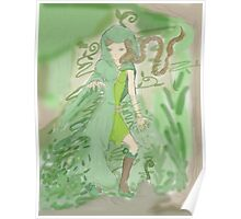 Green Sorceress Poster
