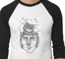 Cats on the brain Men's Baseball ¾ T-Shirt