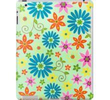 Flowers Background iPad Case/Skin