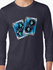 Inuit Playing Cards Long Sleeve T-Shirt