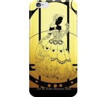 Silhouette Belle iPhone Case/Skin