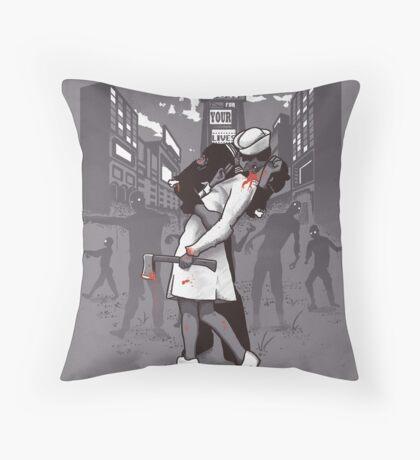 Z-Day Throw Pillow