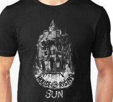House of the Rising Sun - B&W Unisex T-Shirt