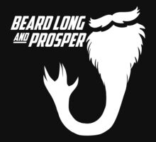 Beard Long and Prosper by AngryMongo