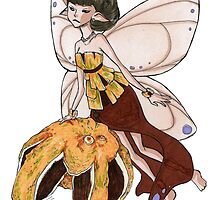 Orange Fairy by Leanne-Marie Taylor