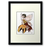 Orange Fairy Framed Print