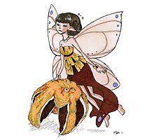 Orange Fairy Photographic Print