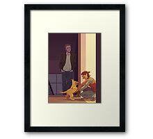REBECCA JOHNSON Framed Print