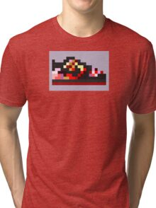 8-bit Kicks (Pushead) Tri-blend T-Shirt